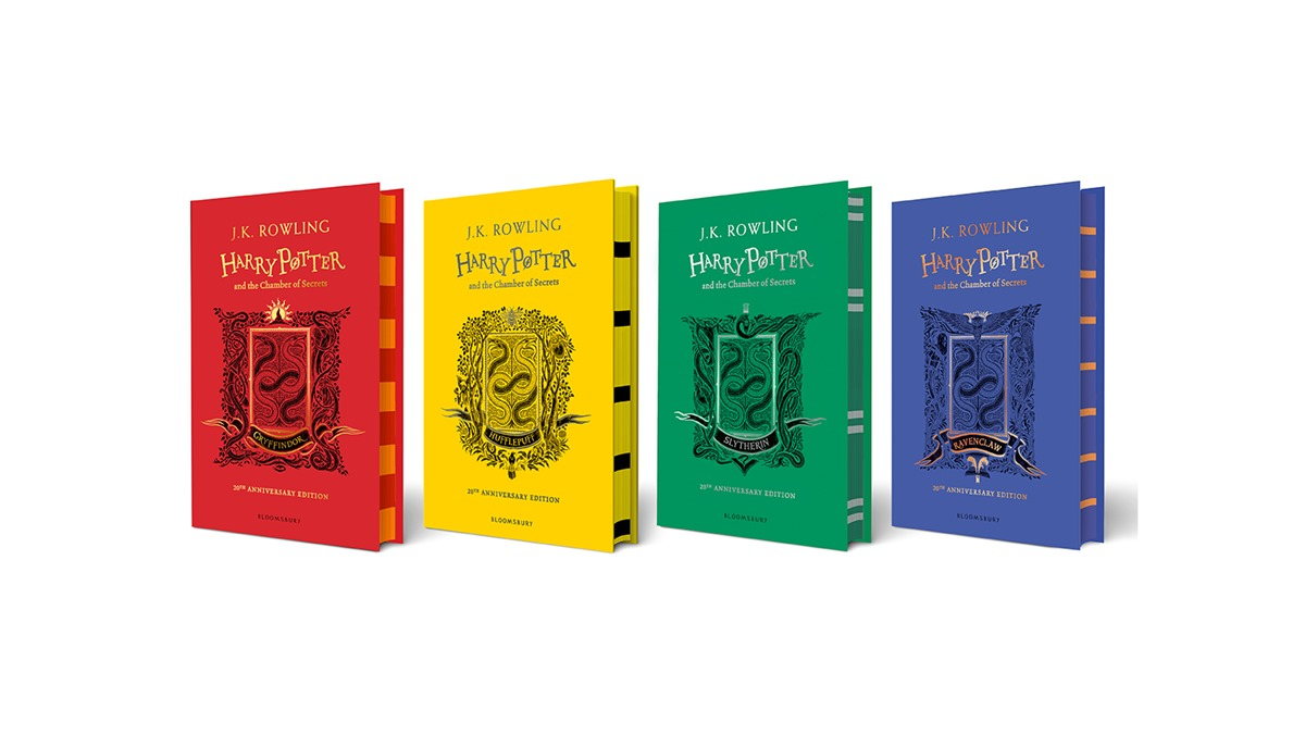 Limited edition harry potter books