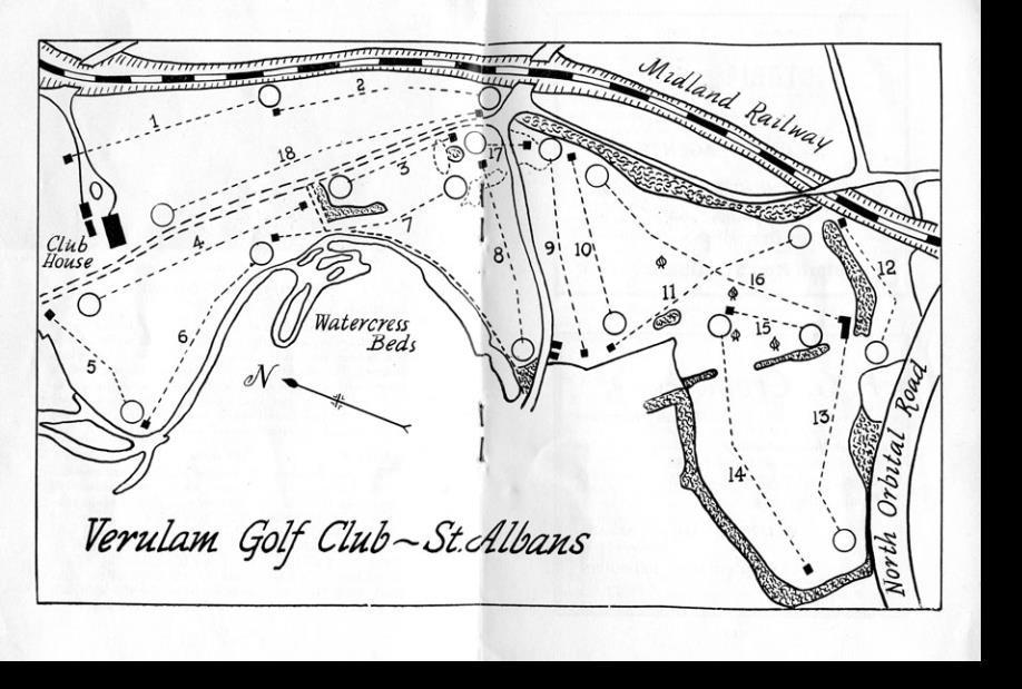1945 54 Verulam Golf Club