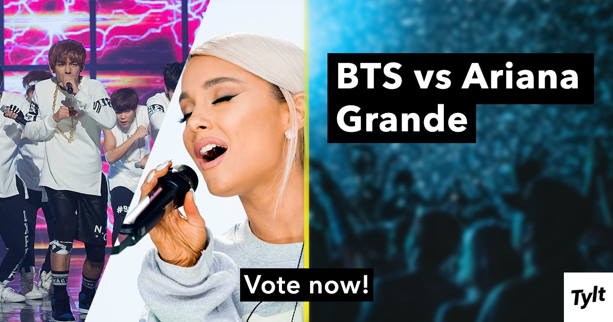 Billboard's Top Social Artist: BTS or Ariana Grande? | The Tylt
