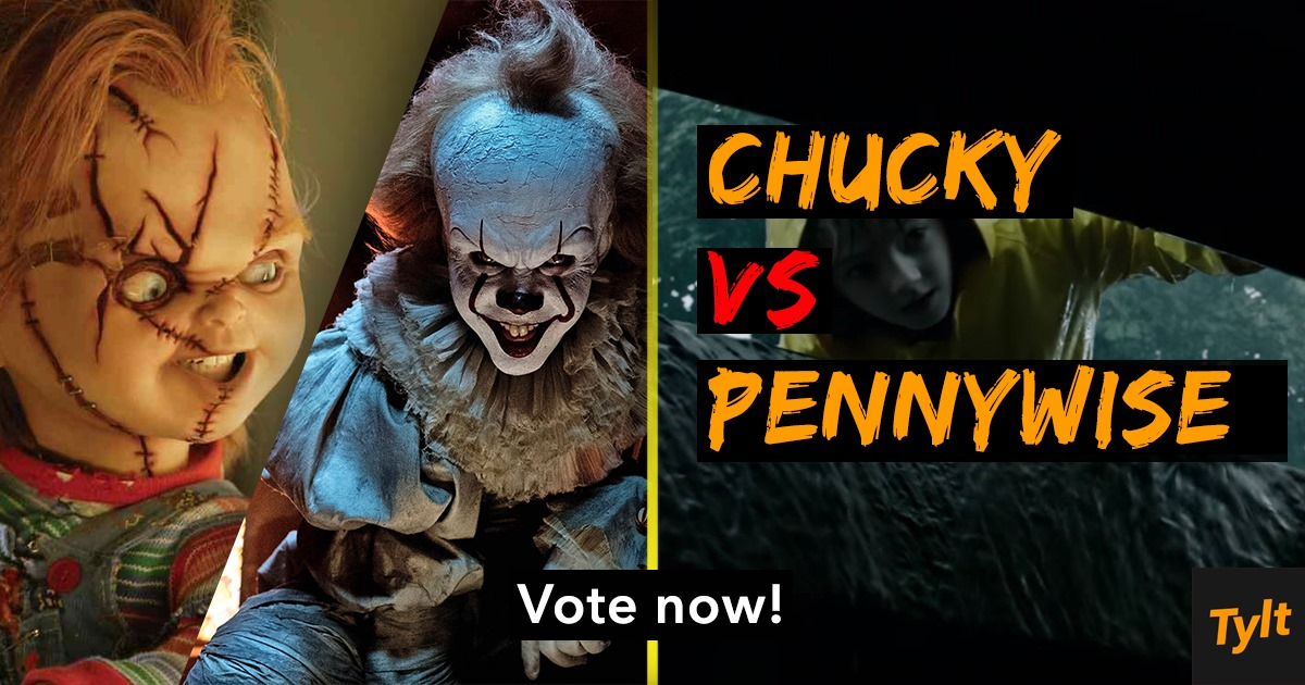 scariest movie monster chucky or pennywise the tylt